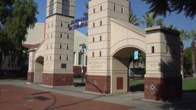 Boccardo-Tor bei San Diego State University stock footage