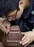 boccaro茶壶 免版税库存图片