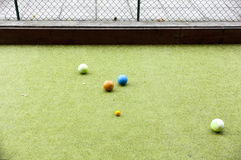 Bocce Royalty Free Stock Images