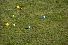 Bocce ball Royalty Free Stock Images