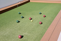 Bocce Ball Court Stock Images
