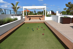 Bocce Ball Court Royalty Free Stock Images