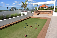 Bocce Ball Court Stock Photography