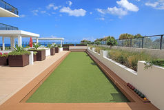 Bocce Ball Court Stock Image