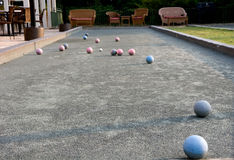 Bocce Balls Stock Images