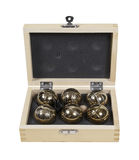 Bocce Balls Set Royalty Free Stock Photos