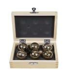 Bocce Balls Set Royalty Free Stock Photos