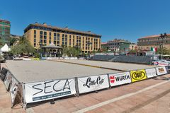 Bocce International Championship in Ajaccio, Corsica, France