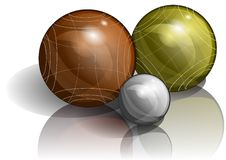 Bocce Royalty Free Stock Image