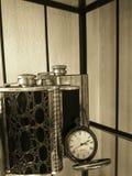 Boccetta del whiskey Fotografia Stock