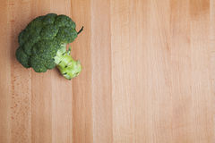 Boccoli bij de lijst Royalty-vrije Stock Foto's
