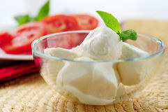 Bocconcini cheese Royalty Free Stock Images