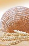 Bochenek chleba i banatki ucho Zdjęcie Stock