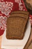Bochenek chleba i żyta ucho Obrazy Stock