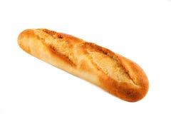 Bochenek chleba obsiadanie na wszystkie bielu Zdjęcia Stock