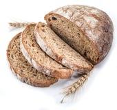 bochenek chleba pokroić fotografia stock
