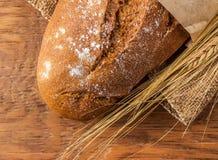 Bochenek chleba zakończenie Obraz Stock