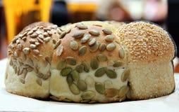 Bochenek speicality Oziarniony chleb Fotografia Royalty Free