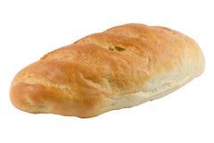 Bochenka chleb odizolowywający na bielu Fotografia Royalty Free