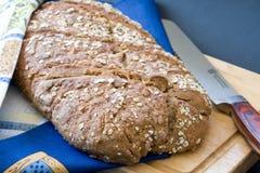 bochenka piec chlebowy domowy żyto Obrazy Stock