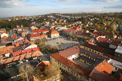 Bochnia - centro de ciudad Fotografía de archivo libre de regalías