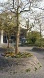 Bochum, Duitsland - April 24, 2015: Campus ruhr-Universität Bochum stock afbeelding