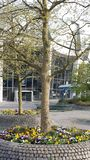 Bochum, Duitsland - April 24, 2015: Campus ruhr-Universiteit Bochum royalty-vrije stock foto's