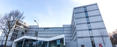 Bochum, North Rhine-Westphalia/germany - 21 11 18: vonovia headquarter building in bochum germany. Bochum, North Rhine-Westphalia/germany - 21 11 18: the vonovia royalty free stock image