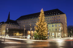 Bochum Rathaus Arkivbild