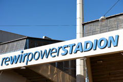 Bochum-Stadion Lizenzfreie Stockfotografie