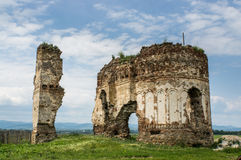 Bociulesti废墟 库存图片