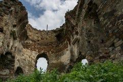 Bociulesti ruins Royalty Free Stock Image