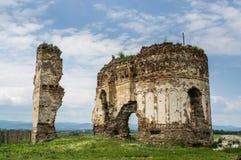 Bociulesti ruins. The Bociulesti ruins - old church from Romania Stock Images