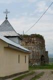 Bociulesti ruins Royalty Free Stock Images