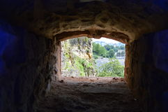 The Bock and the City Casements, Luxembourg City Stock Photo