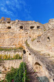 Bock Cliff in Luxembourg City Stock Photo