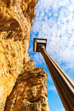 Bock Cliff in Luxembourg City Royalty Free Stock Image