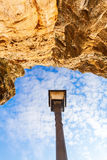 Bock Cliff in Luxembourg City Royalty Free Stock Photo