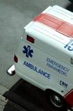Bock de la ambulancia Imagenes de archivo