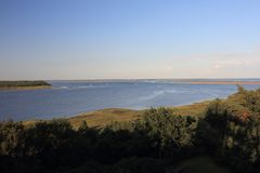 Bock-Insel Deutschland lizenzfreie stockbilder