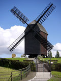Bock windmill Marzahn-backside Royalty Free Stock Images