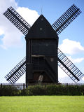 Bock windmill Marzahn-front view Royalty Free Stock Image