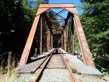 Bockbrücke Stockbild