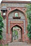 Boczna brama jest humayun grobowiec delikatesy indu zdjęcie royalty free