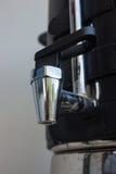Bocznego zbliżenia faucet gorący garnek Obraz Royalty Free