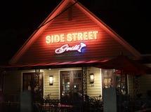 Bocznej ulicy grill, Memphis, Tennessee zdjęcie stock