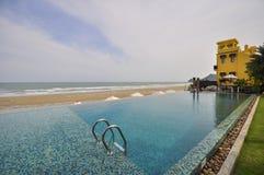 Boczny denny pływacki basen Obraz Stock