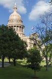 Boczny gazonu Tx Capitol Obrazy Royalty Free