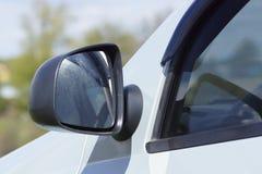 Boczny lustro Część samochód Obraz Royalty Free