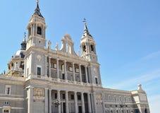 Boczny widok Palacio real Obraz Royalty Free